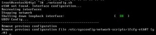 Llamada al script netconfig.sh